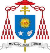 Coat of arms of Jorge Mario Bergoglio (The Pope Francis I)