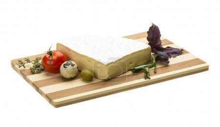 Wedge of Gourmet Brie Cheese...
