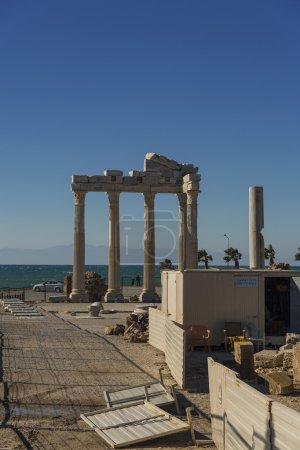 Photo pour Temple Apollo à Side, Turquie - image libre de droit