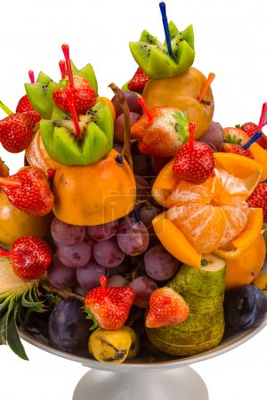 Photo for Fresh fruits in the vase - Royalty Free Image