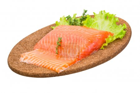 Photo for Salmon fillet with thyme - Royalty Free Image