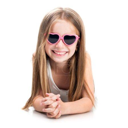 niedliches kleines Mode-Mädchen