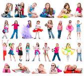 Nastavení fotografie holčička