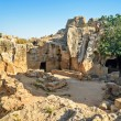 Tombs of the Kings archaeological museum in Paphos...