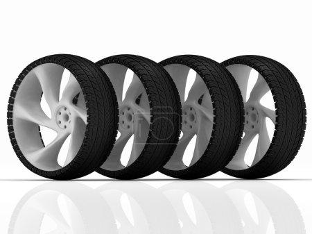 pneu et roue