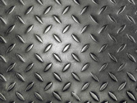 plaque métal diamant