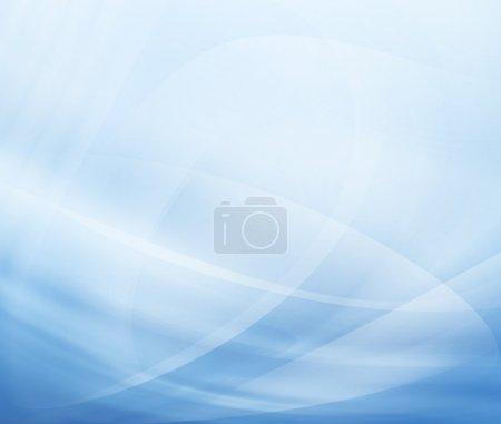 Foto de Fondo moderno abstracto con ondas azules - Imagen libre de derechos