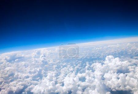 Photo pour Vue aérienne de la planète de terre photo - image libre de droit