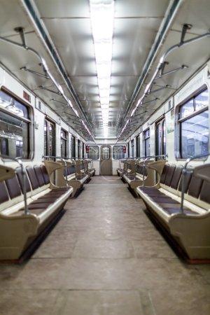 Moscow subway car