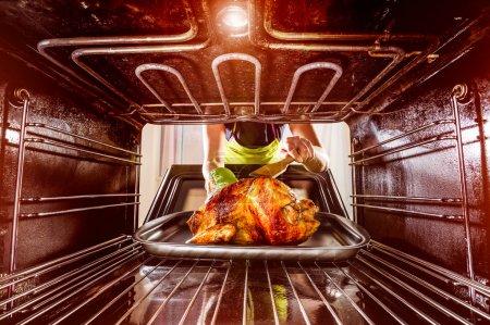 cuisson poulet au four à la maison