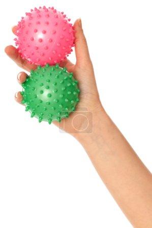 Two massage balls