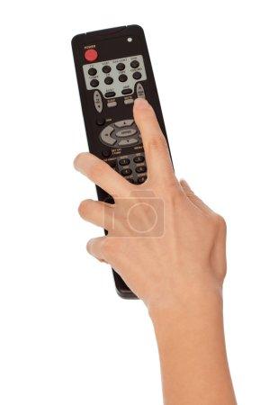 Television control panel