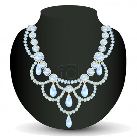 necklace women for marriage with pearls