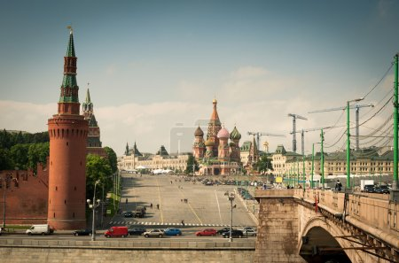 Red Square, Kremlin and the Cathedral St. Basil's