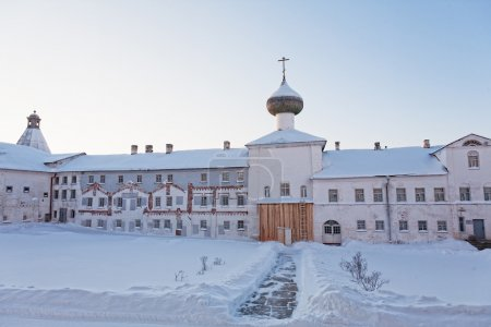 Solovetsky monastery. Russia...