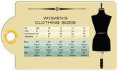 ženy je konfekční velikost