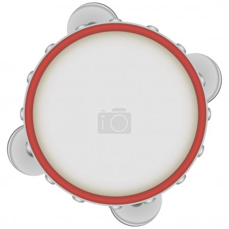 Tambourine - a musical instrument of the drums cla...