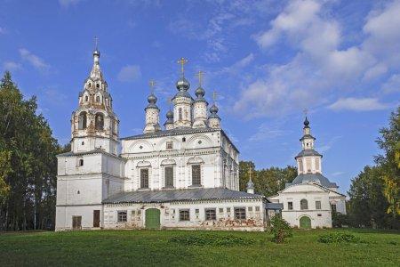 """Photo pour L'ensemble de l """"Église de la Transfiguration et de la Transfiguration Sretensky (XVIIe siècle) à Great Ustyug, Russie - image libre de droit"""