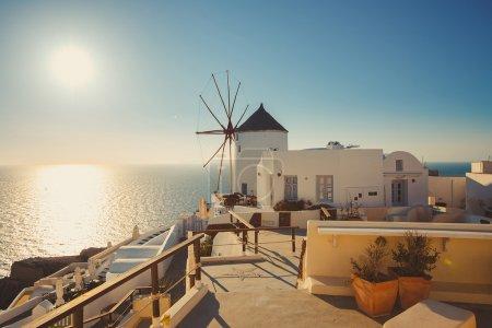 Unique Santorini architecture. Greece