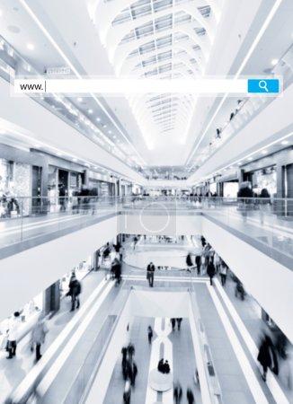 seacrh in mall