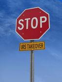 Zastavit irs převzetí post znamení