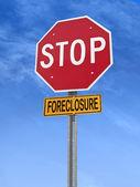 Konceptuální stopku s slovo foreclosure