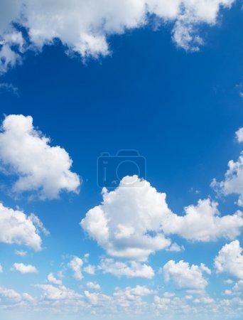 Foto de Cielo de luz. Composición del cielo natural. Facilidad de diseño. - Imagen libre de derechos