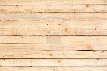 Stacks of pine boards