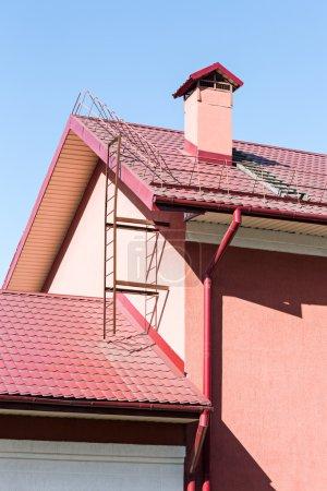 Rooftop gutter system