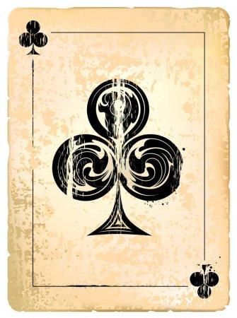 Clubs Vintage Poster