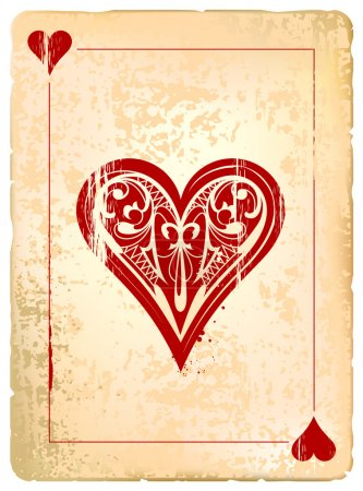 Playing cards Vintage Poster