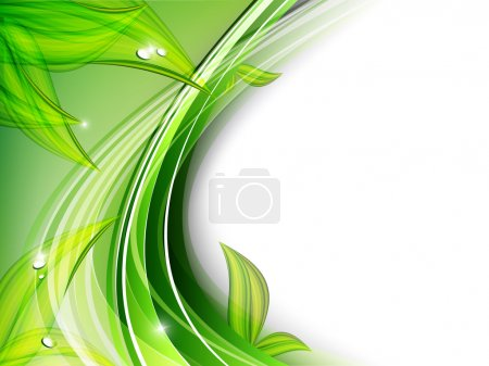Illustration for Beautiful abstract floral vector background. Eps10 - Royalty Free Image