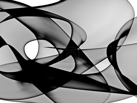Photo for Abstract generated black and white pattern background - Royalty Free Image