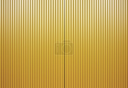 Yellow wood panelling texture