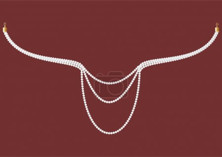 Necklace of pearls.
