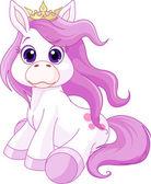 Cute horse princess
