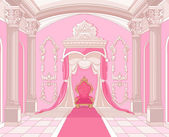 Interior of the Throne room of magic castle