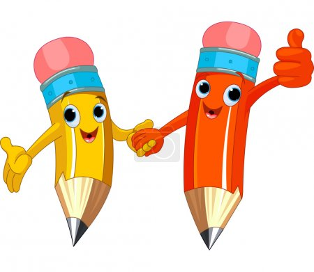 Pencil Characters