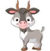 Farm animals Illustration of cute Goat