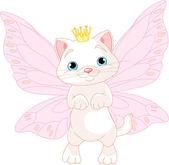 Illustration of Cute Fairy Cat