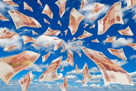 Money in the sky.