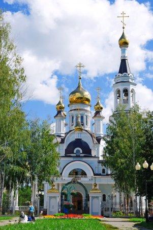 Temple of St. Tatiana, Cheboksary, Chuvashia, Russia.