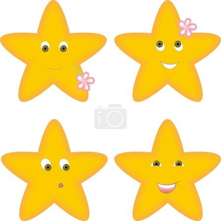Quatre étoiles