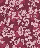 Burgundy floral background