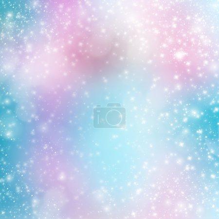 Photo pour Fond multicolore abstrait avec bokeh flou pour la conception - image libre de droit