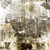 Pozadí abstraktní noviny grunge design s staré roztrhané po