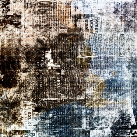 Grunge abstract newspaper background