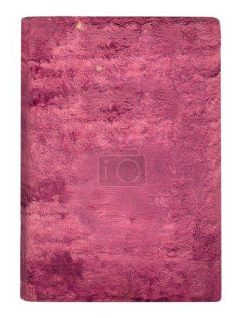 Old pink velvet cover