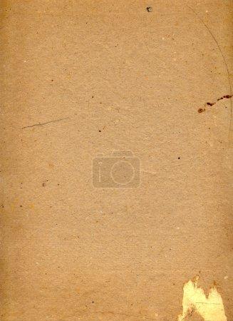 Old grunge cardboard sheet of paper