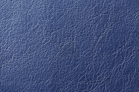 Dark Blue Artificial Leather Background Texture